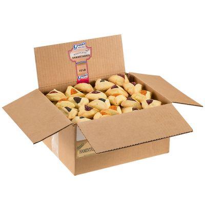 Assorted Hamantaschen - 10 Pound Box (135 Count)