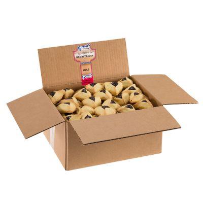 Blueberry Hamantaschen - 10 Pound Box (135 Count)