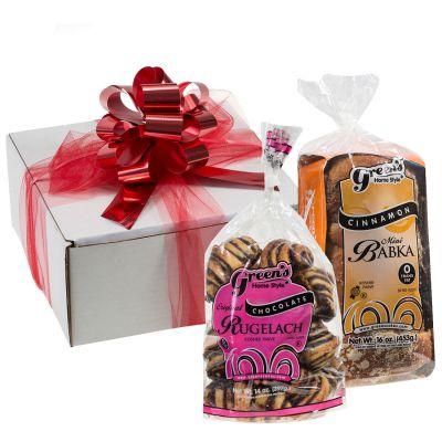 Cinnamon Babka & Chocolate Rugelach Gift Box