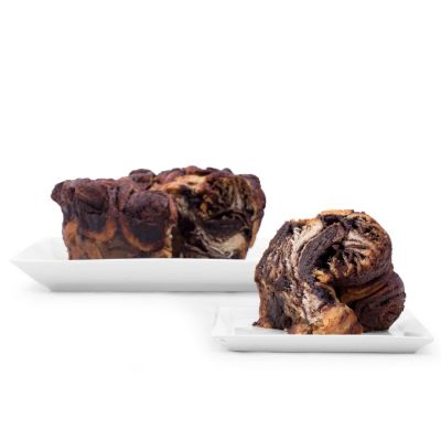 Round Chocolate Babka - 26 oz
