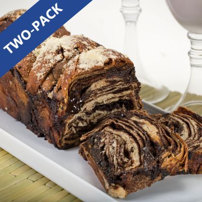 Chocolate Babka - Pack of 2/24 oz
