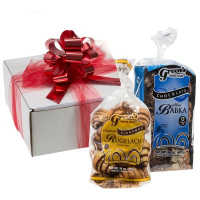 Chocolate Babka & Cinnamon Rugelach Gift Box