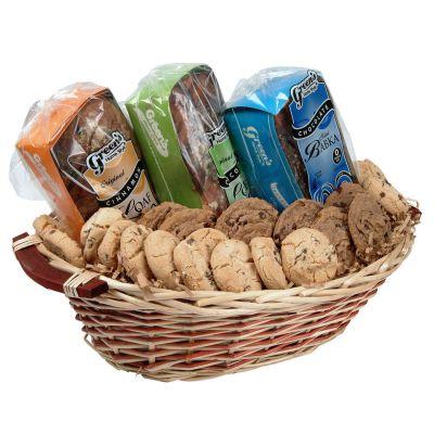 Deluxe Kosher Babka & Cookies Gift Basket