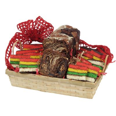 Happy Holiday With Color Gourmet Holiday Gift Basket
