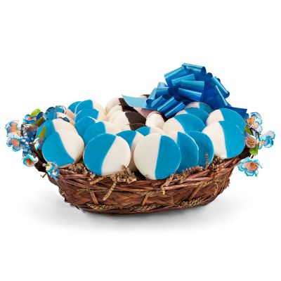 It's A Boy! Welcome Baby Cookie Gift Basket