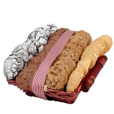 Kosher Cookie Lovers Gourmet Holiday Gift Basket