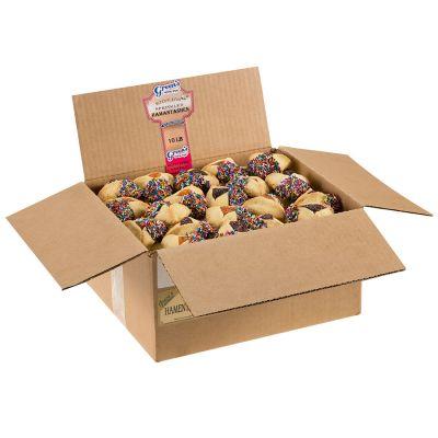 Sprinkled  Hamantaschen (Assorted) - 10 Pound Box