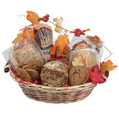 Thank You With Chocolate & Cinnamon Gourmet Food Gift Basket