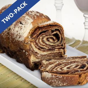 Cinnamon & Chocolate Babka - Pack of 2/24 oz