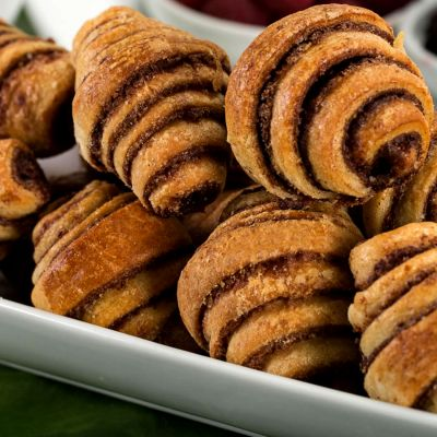 Cinnamon Rugelach - 10 Pound Box