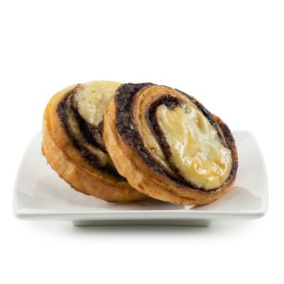Chocolate Cheese Pinwheels