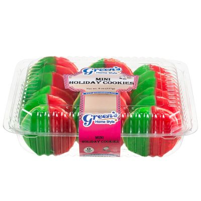 Mini Holiday Cookies